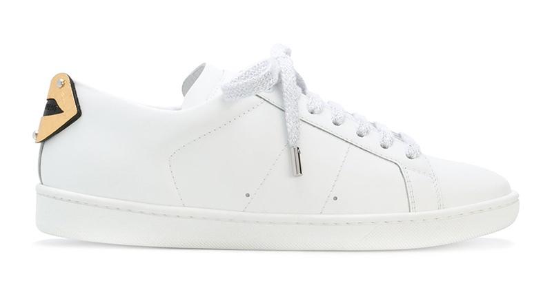 Saint Laurent Signature Cour Classic SL/01 Lips Sneakers $695