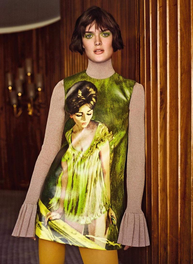 Sam Rollinson Wears Fall Fashions in Harper's Bazaar Germany