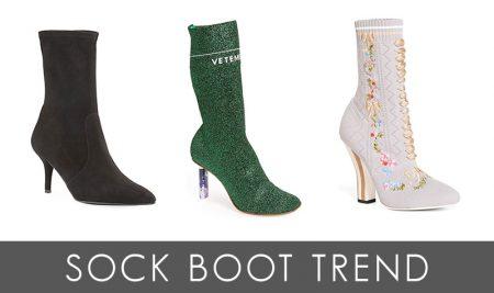 Trend Alert: 8 Sock Booties for the New Season