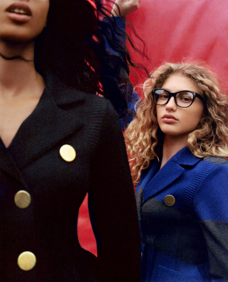 Dorit Revelis stars in Sonia Rykiel's fall-winter 2017 campaign
