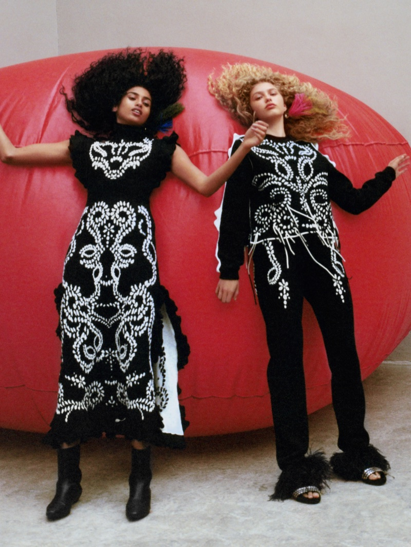 Sonia Rykiel focuses on embroidered styles for fall-winter 2017 campaign