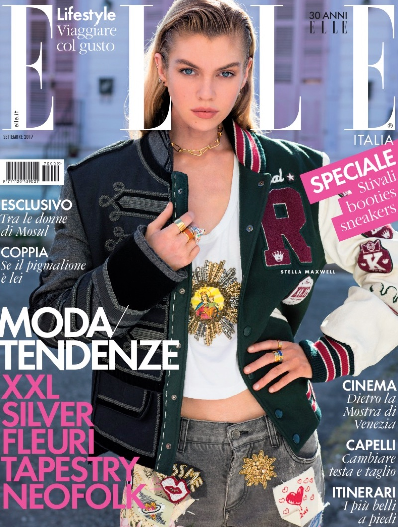 Stella Maxwell Takes On Street Style in New Orleans for ELLE Italy