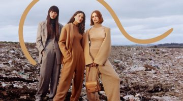 Stella McCartney Sets Fall 2017 Campaign in A Landfill