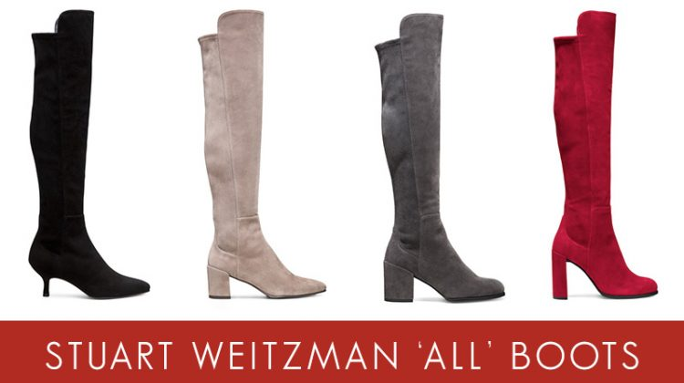 ALL About the Boots: See Stuart Weitzman's Fall Styles