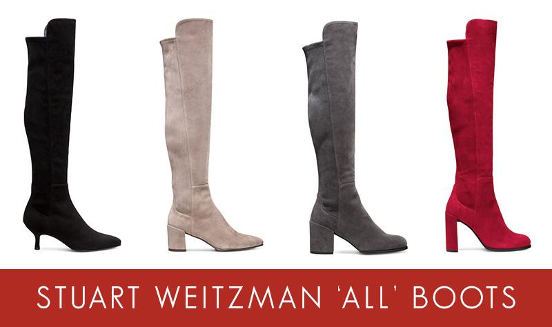 Stuart Weitzman ALL Boot Styles