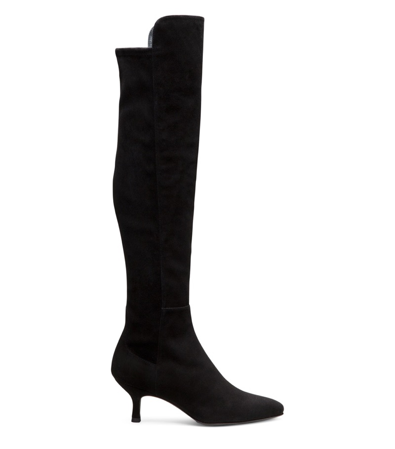 Stuart Weitzman ALLWAYS Suede Boot in Black $765