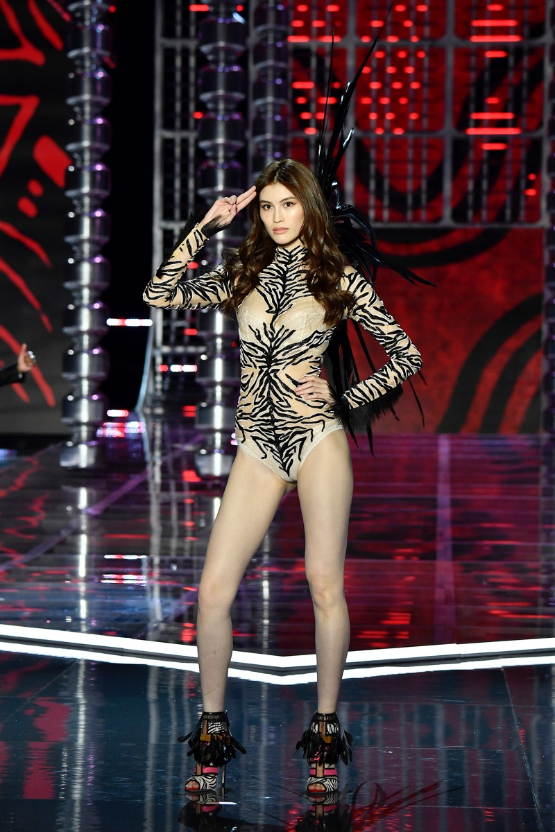 Sui He walks the 2017 Victoria's Secret Fashion Show. Photo: Pixabay