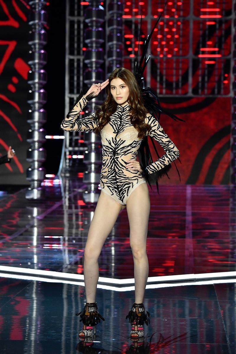 Sui He walks the 2017 Victoria's Secret Fashion Show