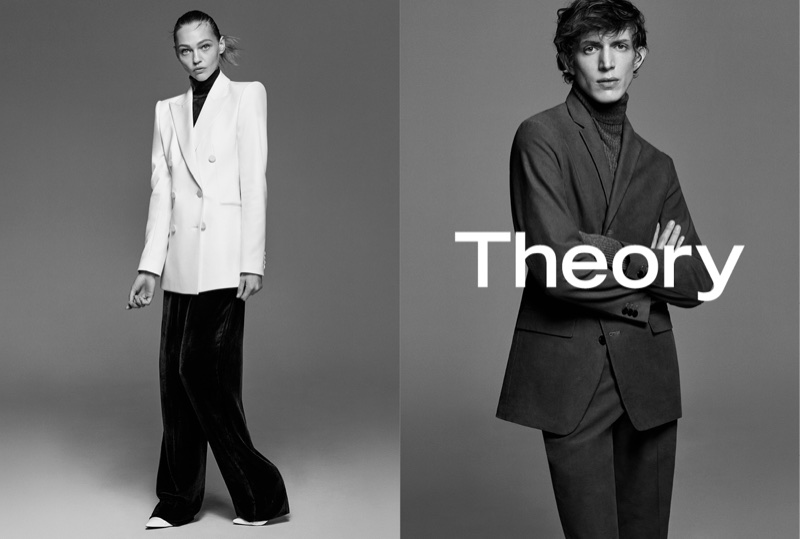 An image from Theory's fall 2017 advertising campaign