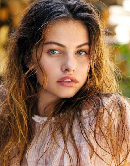 Thylane Blondeau is a Natural Beauty in Grazia France