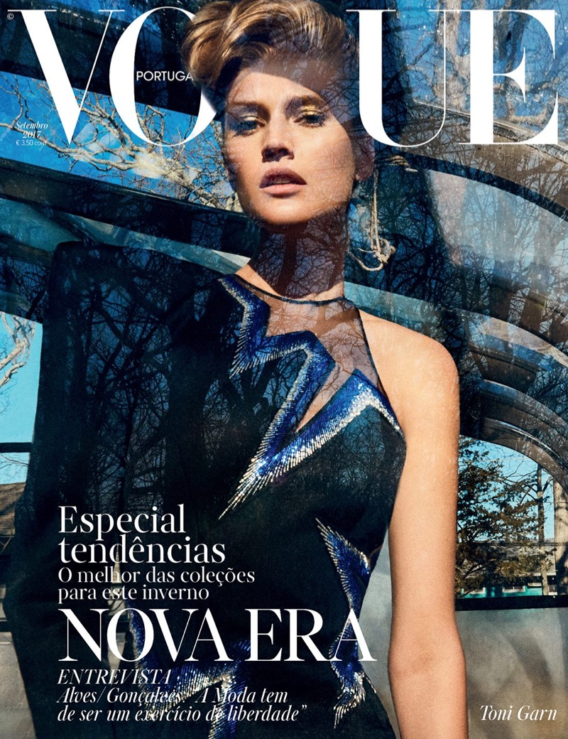 Toni Garrn is a Modern Heroine in Vogue Portugal Cover Story