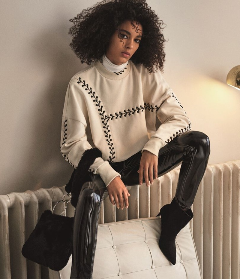 It's sweater season for Topshop's fall 2017 campaign