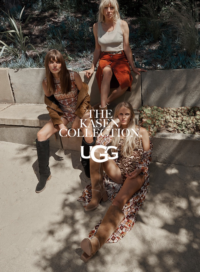 Hanalei Reponty, Kim Gordon and Lola McDonnell star in UGG's fall-winter 2017 campaign