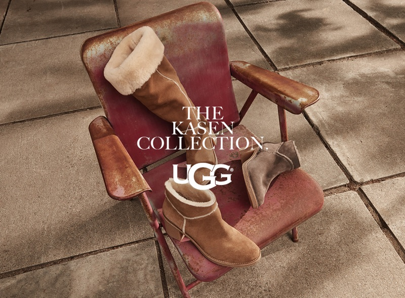 UGG spotlights the Kasen boot in its fall-winter 2017 campaign