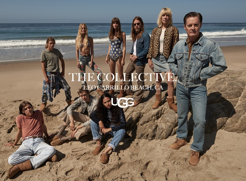 An image from UGG's fall 2017 advertising campaign