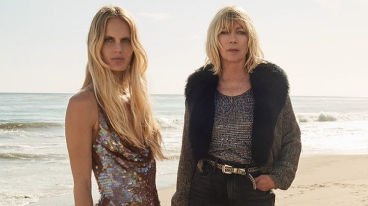 Hanalei Reponty and Kim Gordon for UGG's fall-winter 2017 campaign