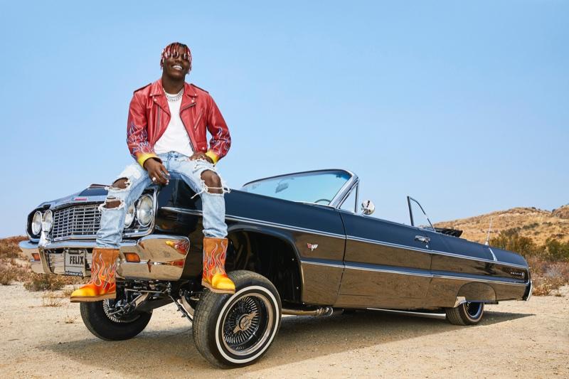 Lil Yachty stars in UGG x Jeremy Scott campaign