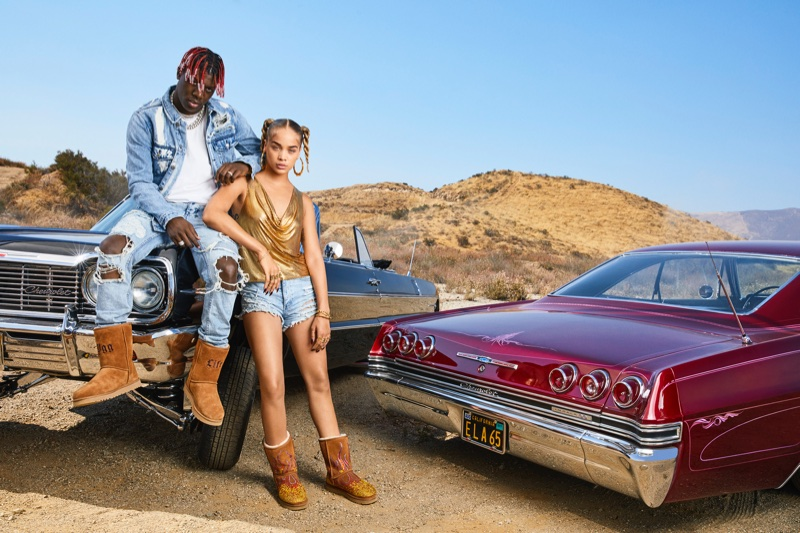 UGG x Jeremy Scott taps Lil Yachty and Jasmine Sanders for collaboration campaign
