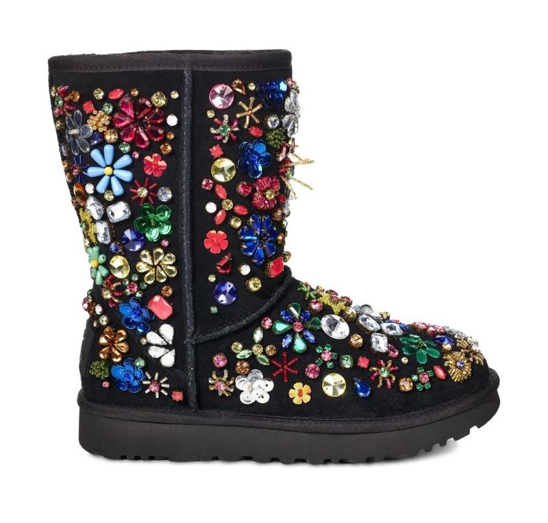 UGG x Jeremy Scott Classic Short Jewel Boot
