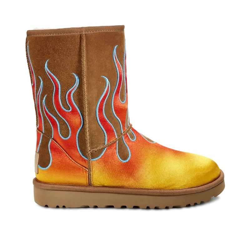 UGG x Jeremy Scott Classic Short Flames Boot