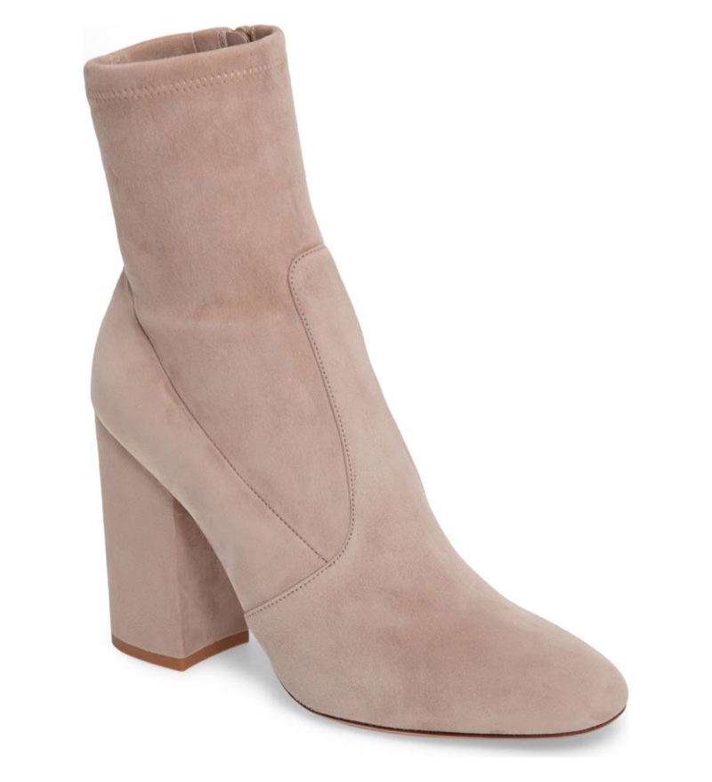 Valentino Stretch Suede Boot $995