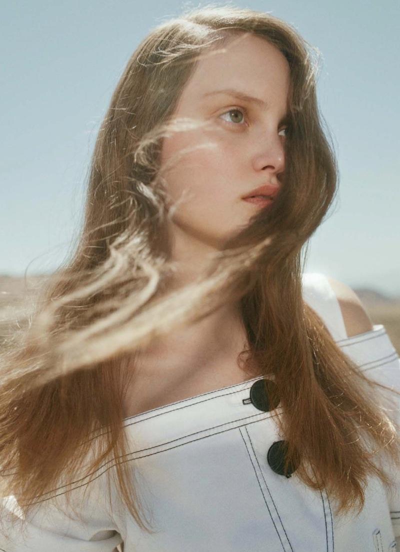 Safari In Va >> Victoria Anderson Models Chic Desert Styles for Marie Claire Australia | Fashion Gone Rogue