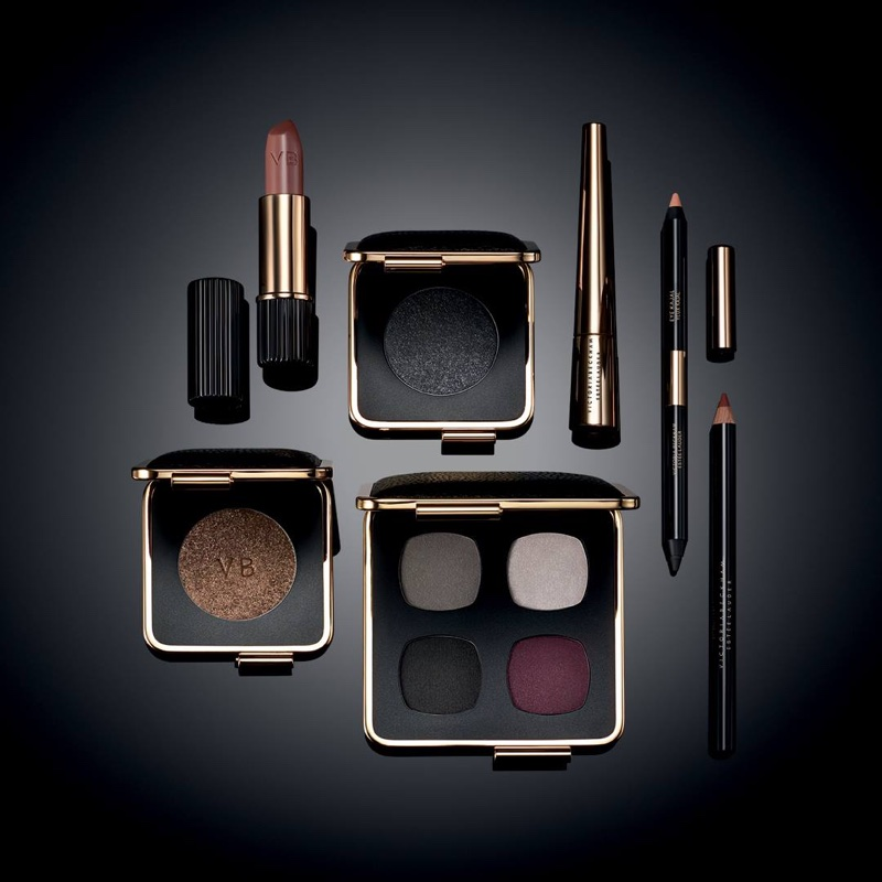 A look at Victoria Beckham x Estee Lauder's fall 2017 makeup collaboration