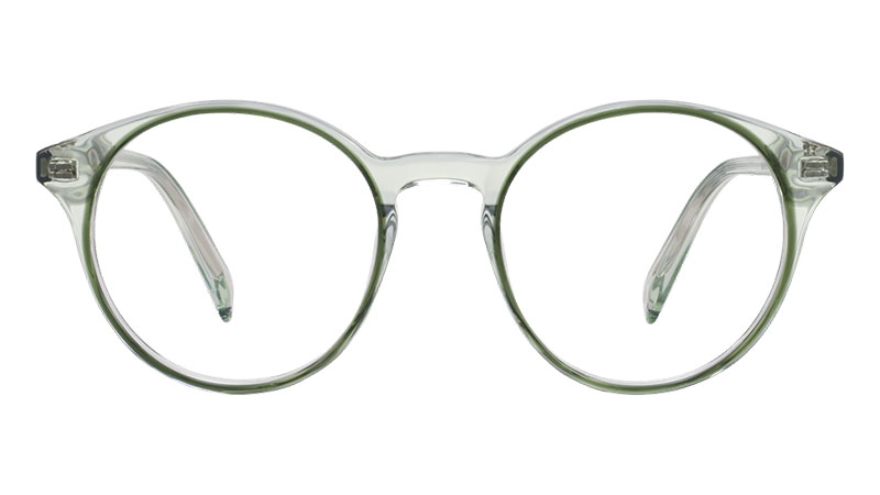 Warby Parker Morgan Glasses in Traced Clover Crystal $145