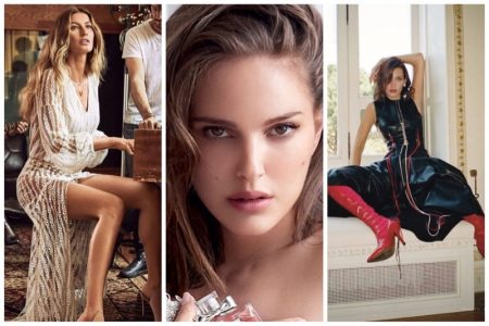 Week in Review |  Natalie Portman for Miss Dior, Bella Hadid's New Cover, Gisele Bundchen for Rosa Cha + More