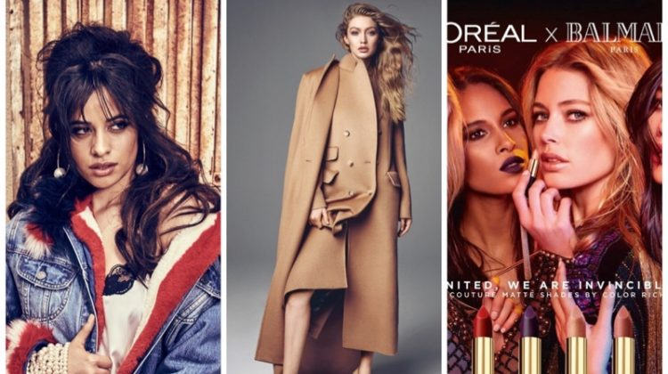 Week in Review | Gigi Hadid's New Cover, Balmain x L'Oreal Paris, Camila Cabello for Guess + More