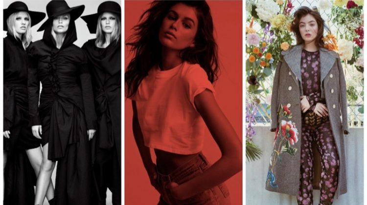 Week in Review | Top Models for Vogue Japan, Kaia Gerber's New Campaign, Lorde Covers FASHION + More