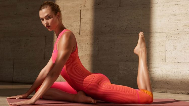 Karlie Kloss stars in adidas by Stella McCartney fall-winter 2017 campaign