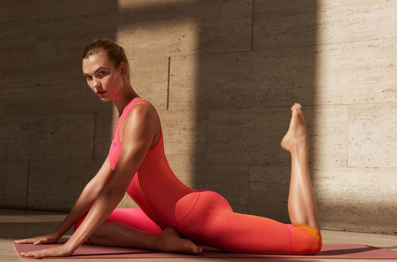 Karlie Kloss stars in adidas by Stella McCartney's fall-winter 2017 campaign