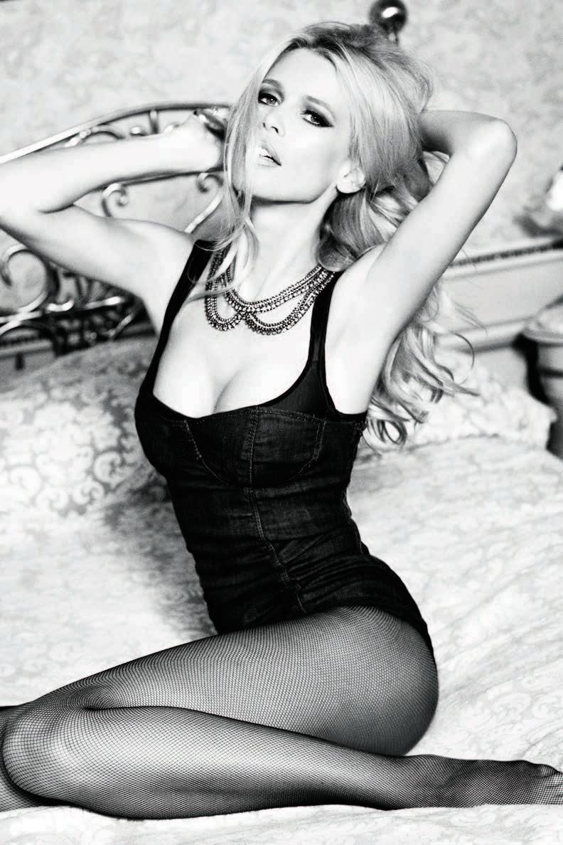 Claudia Schiffer stars in Guess' 2012 campaign. Photo: Ellen von Unwerth