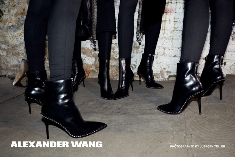 An image from Alexander Wang's fall 2017 advertising campaign