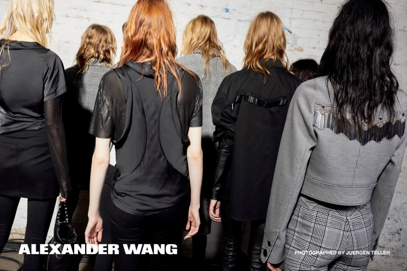Alexander Wang sets fall-winter 2017 campaign in Harlem, New York