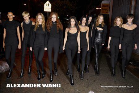 Juergen Teller photographs Alexander Wang's fall-winter 2017 campaign