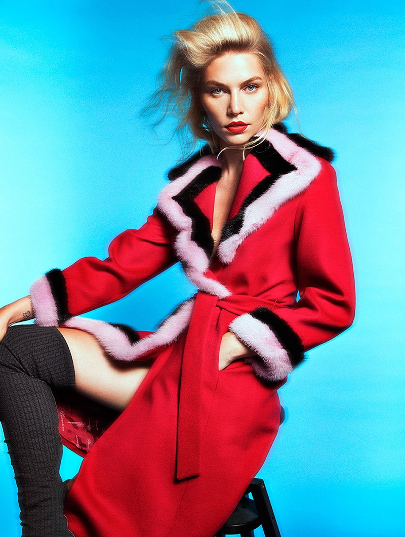 Aline Weber Takes On Colorful Styles for Woman Spain