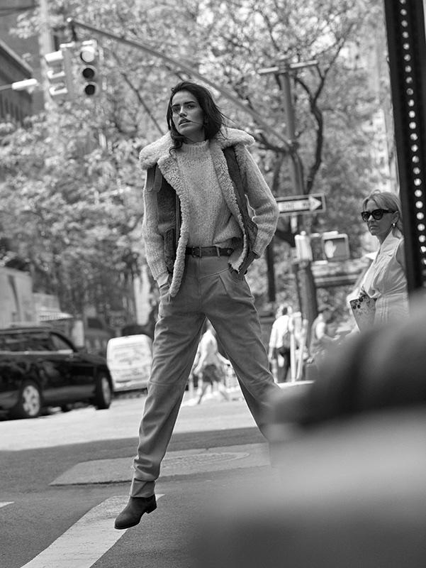 Amanda Wellsh Embraces Western Styles in TELVA Magazine