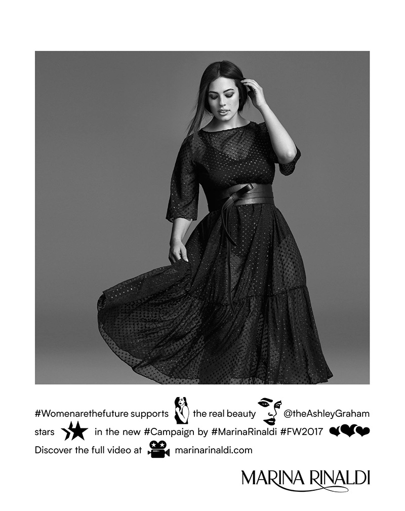 Marina Rinaldi unveils fall-winter 2017 campaign
