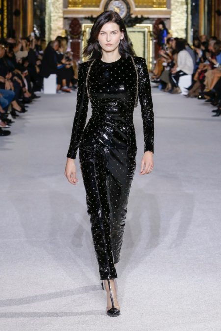 Balmain Offers Luxe Monochrome for Spring 2018