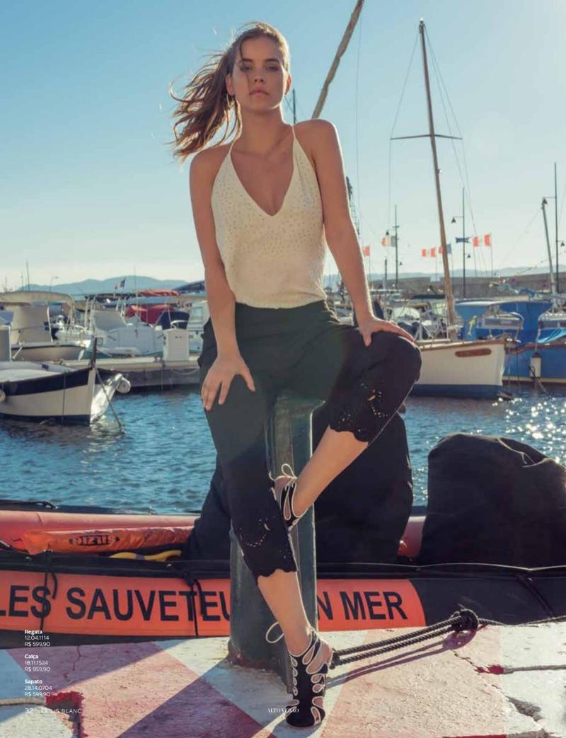 Barbara Palvin Embraces Summer Style for Le Lis Blanc Magazine