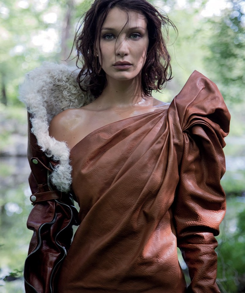 Bella Hadid Showcases Her Natural Beauty in Vogue Australia