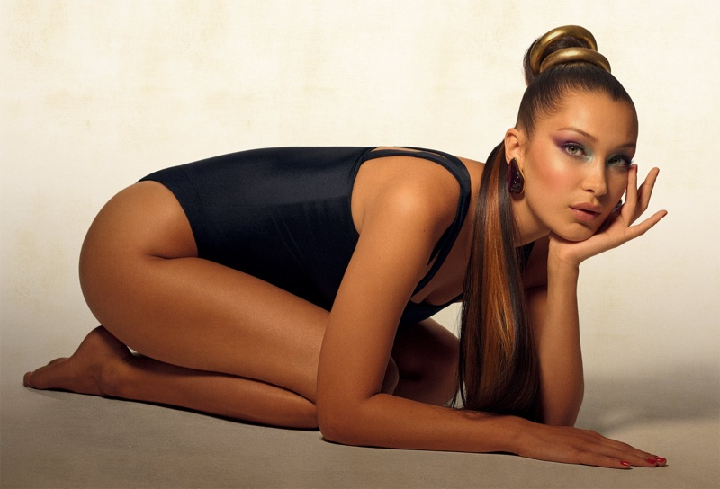 Bella Hadid Channels 90's Vibes for Vogue Brazil Cover Shoot