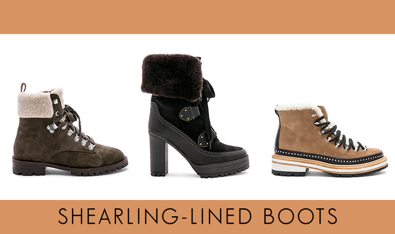 Best shearling-lined boots not UGGs