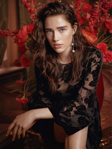 Robin Van Halteren stars in Blugirl's fall-winter 2017 campaign
