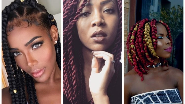 16 Box Braid Hairstyles to Inspire