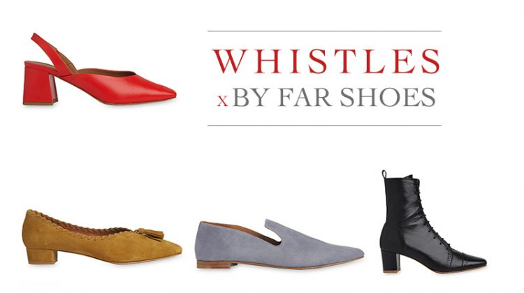 Whistles x By shoe collaboration