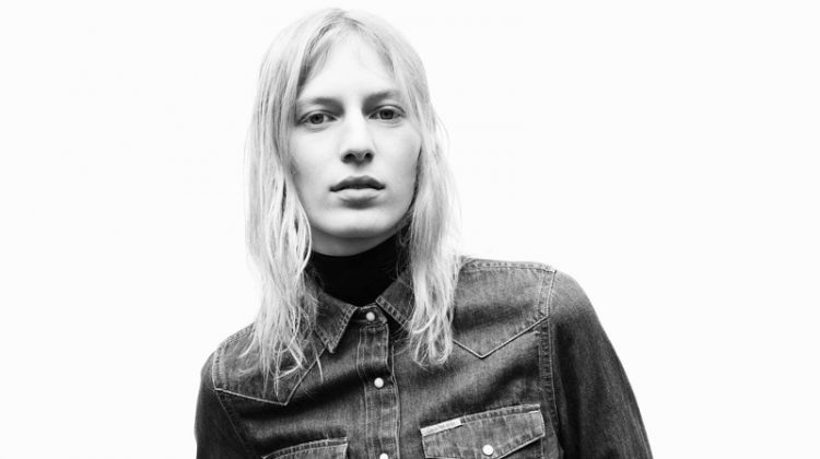Julia Nobis fronts Calvin Klein Jeans' fall-winter 2017 campaign