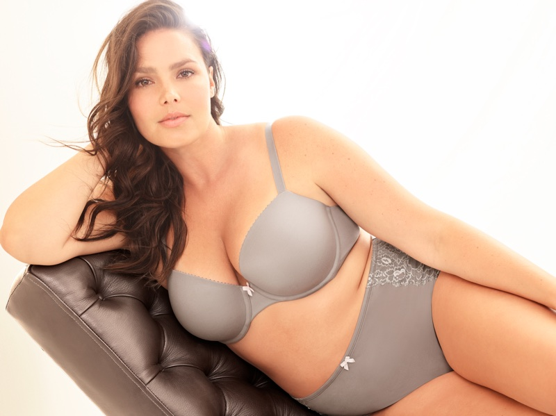 Torrid taps model Candice Huffine for its new lingerie line, Torrid Curve